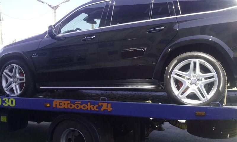 Эвакуация Mercedes GL500