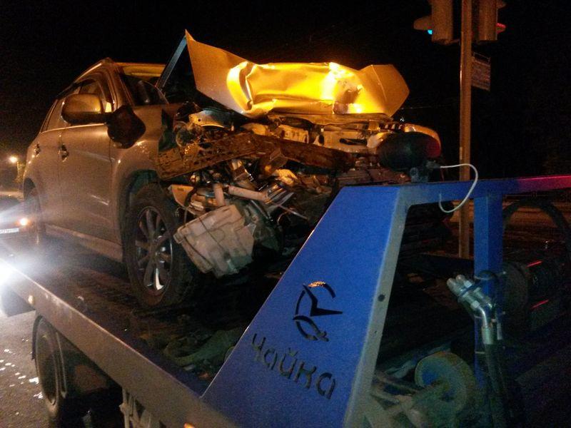 эвакуация  Mitsubishi ASX