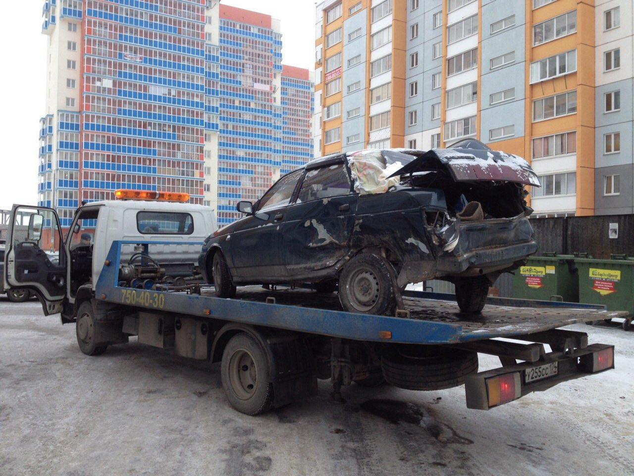 Эвакуация в Челябинске