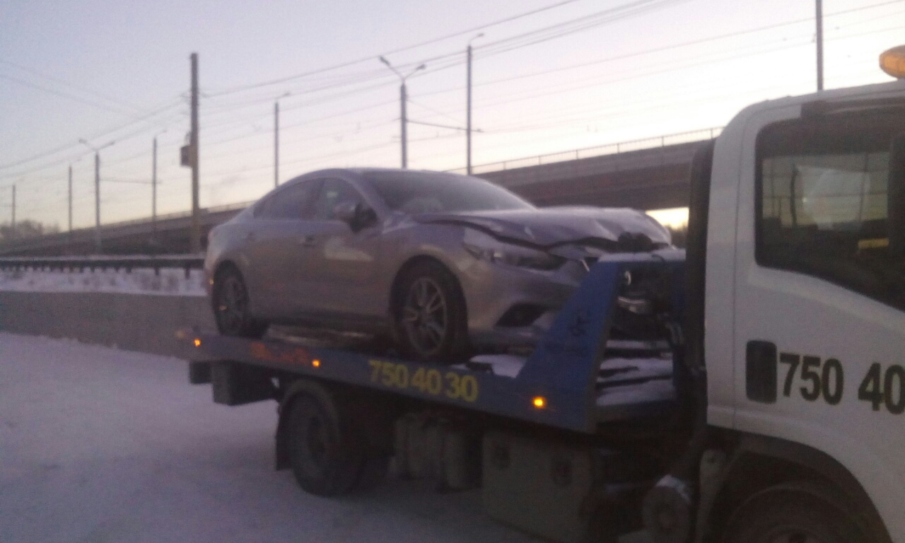Эвакуация Mazda 6 в Челябинске