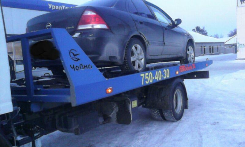 Эвакуация Nissan в Челябинске