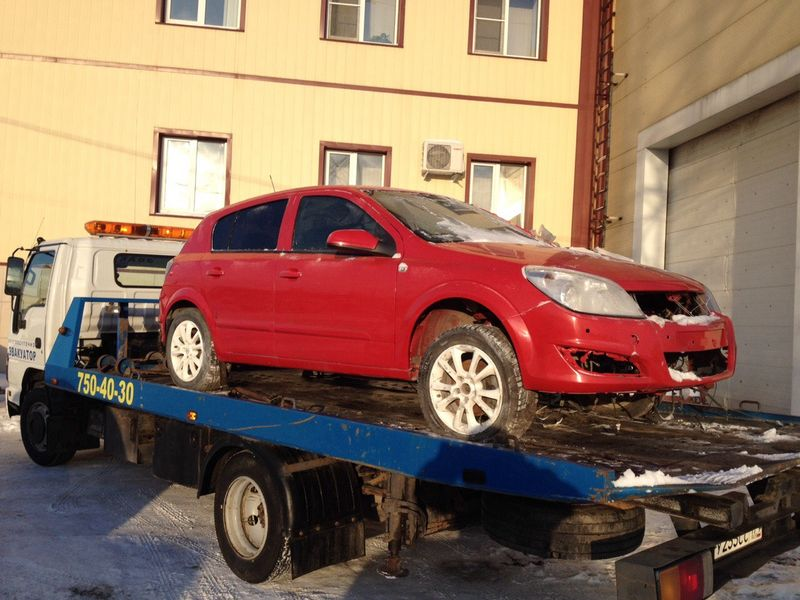 Эвакуация Opel Astra