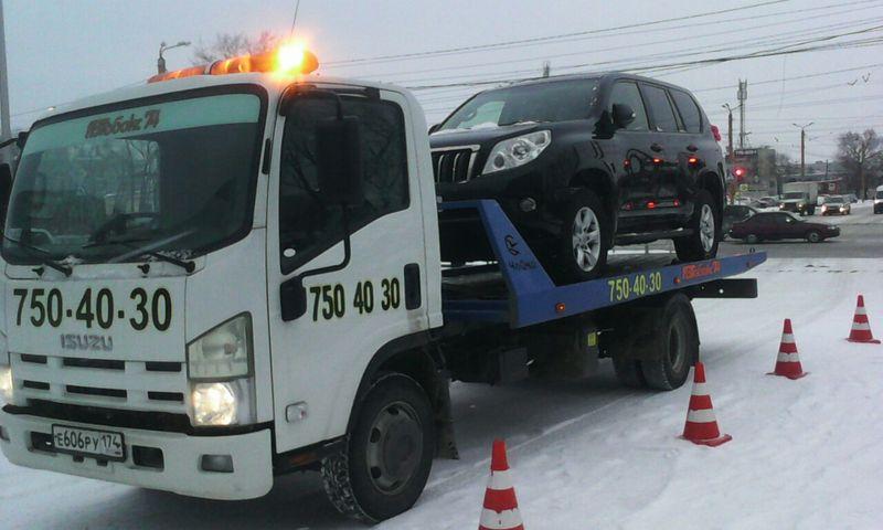 Эвакуация Toyota Lc150