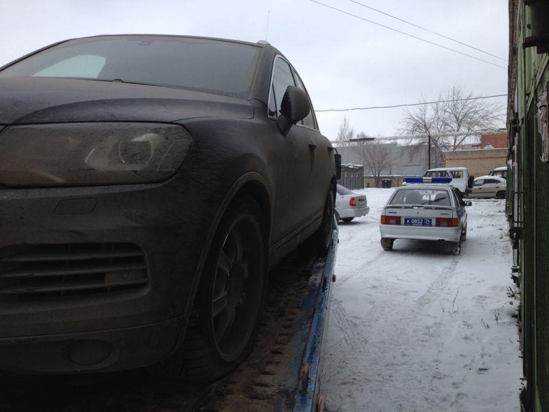 Эвакуация Volkswagen