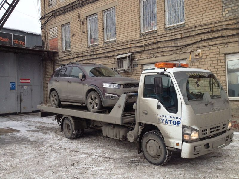 эвауация Chevrolet