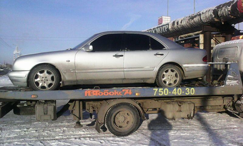 Эвакуация  Mercedes