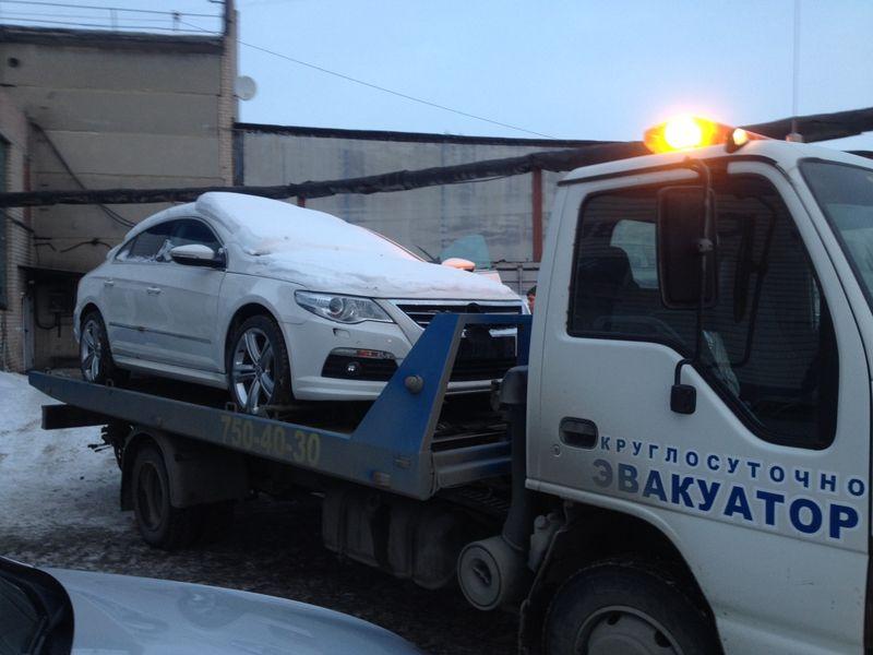 Эвакуация Volkswagen1