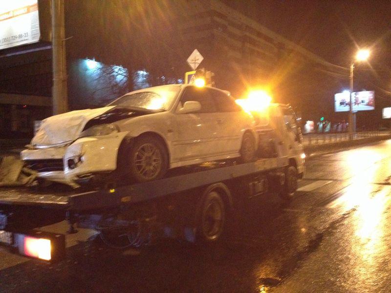 эвакуация Honda Civic