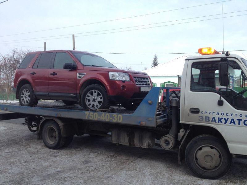 Перевозка Range Rover