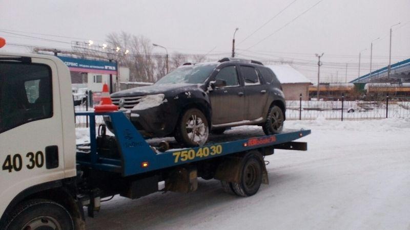 Эвакуация автомобиля Renault