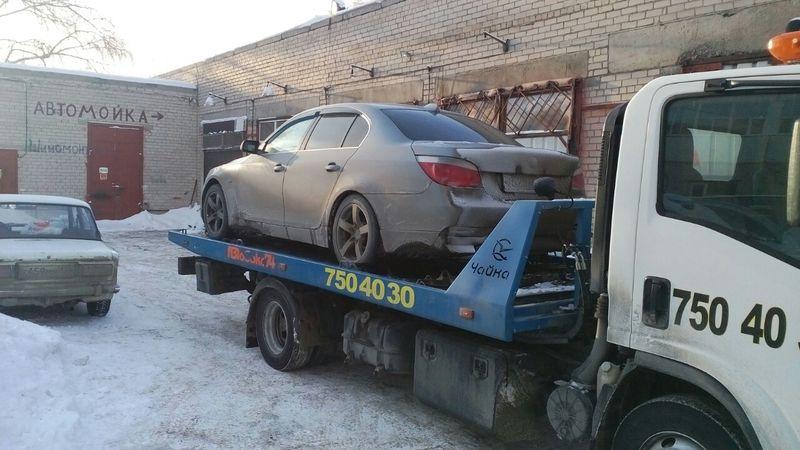 Эвакуация автомобиля BMW