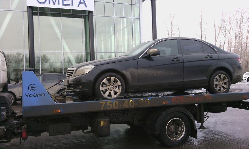 Перевозка автомобиля Mercedes C200