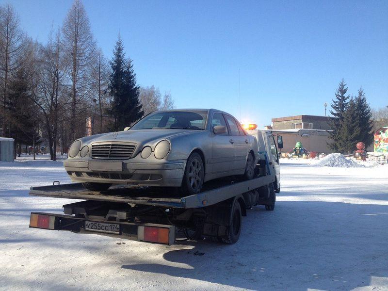Iэвакуация Mercedes