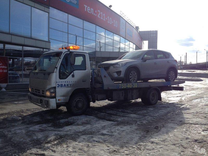 Эвакуация  Mazda CX5